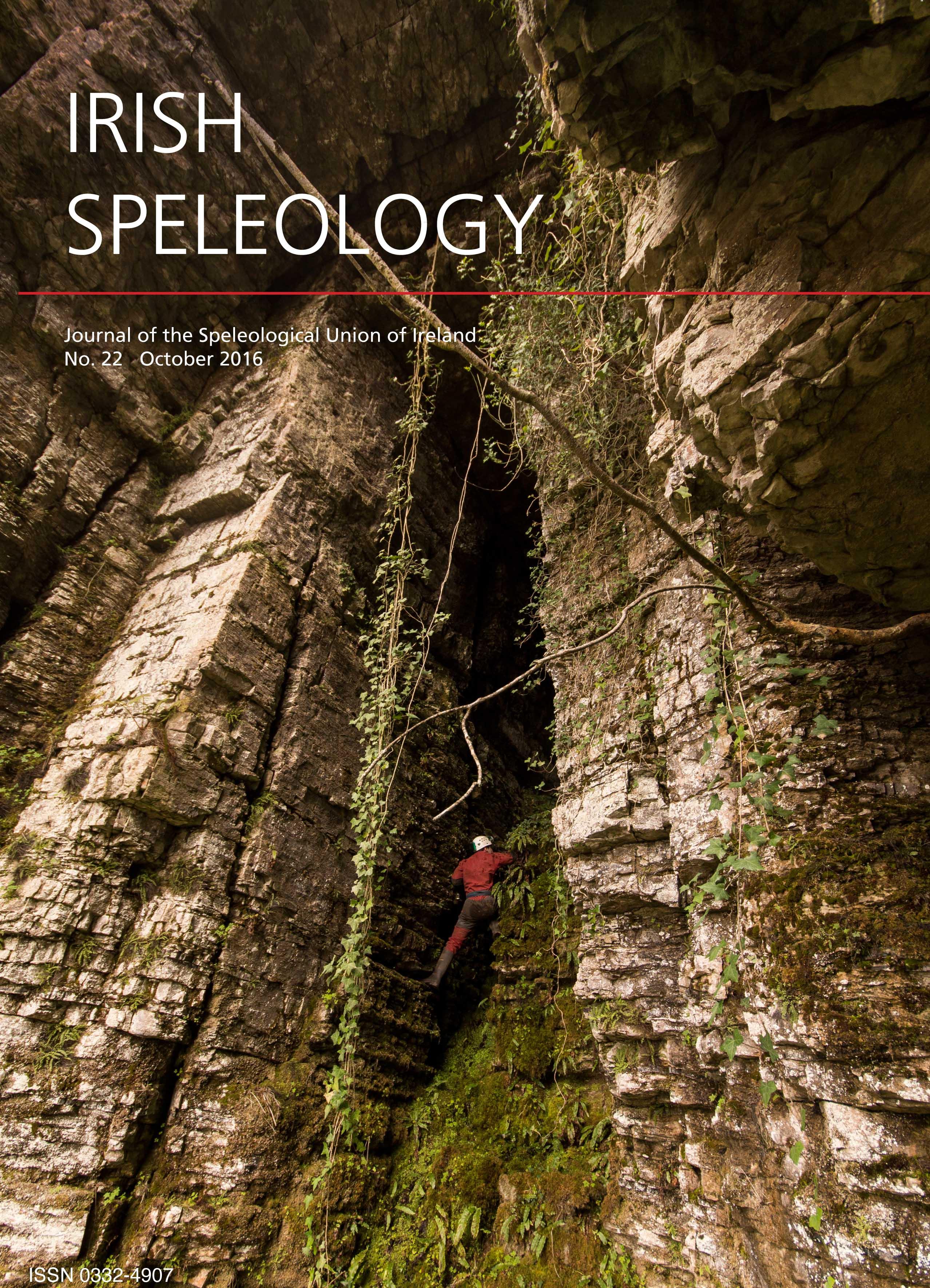 Cover of Irish Speleology